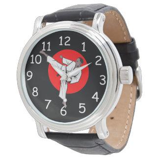 Reloj de los artes marciales