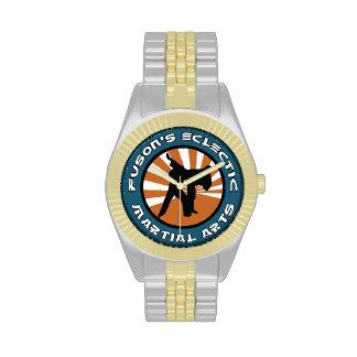 Reloj de los artes marciales de Fuson