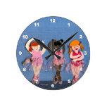 Reloj de los bailarines de ballet