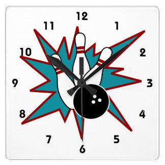 Reloj de los bolos
