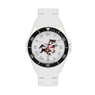 Reloj de los caballos salvajes