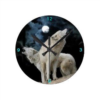 Reloj de los cantantes de la luna de la nieve