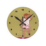 Reloj de los chicas del ballet