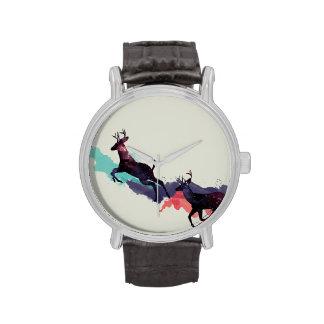 Reloj de los ciervos del espacio