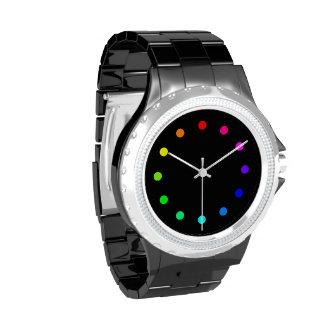 Reloj de los colores