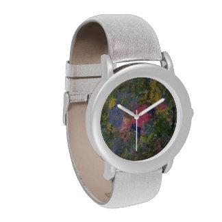 Reloj de los colores de la primavera