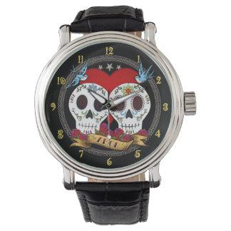 Reloj de los cráneos del amor
