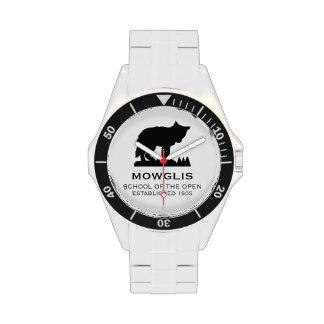 Reloj de los deportes de Mowglis