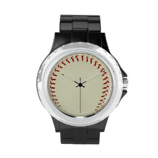 Reloj de los deportes del béisbol