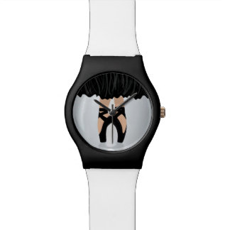 Reloj de los deslizadores de la danza de la bailar