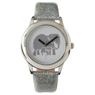 Reloj de los elefantes