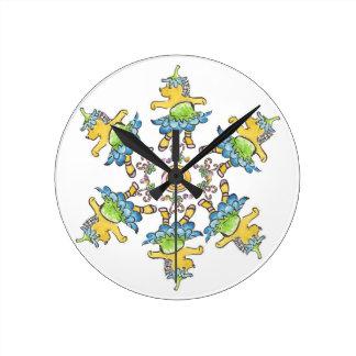 Reloj de los erizos del baile del cascanueces