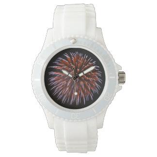 Reloj de los fuegos artificiales