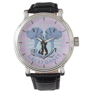 Reloj de los grandes daneses