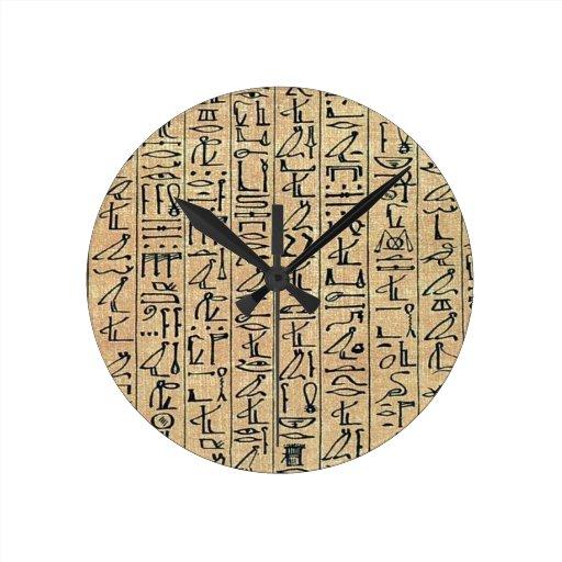 Reloj de los Hieroglyphics