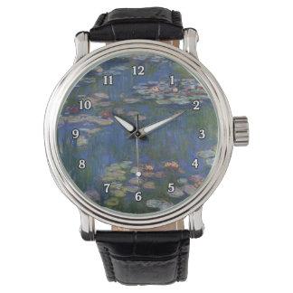 Reloj de los lirios de agua de Monet