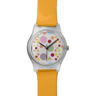 Reloj de los lunares para los niños