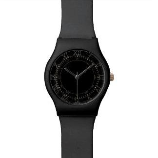 Reloj de los números romanos