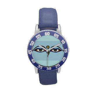 Reloj de los ojos de Buda