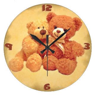 Reloj de los osos de peluche