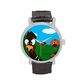 Reloj de los pavos de BlueSkyFarm