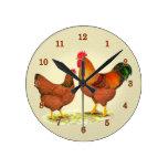 Reloj de los pollos de New Hampshire