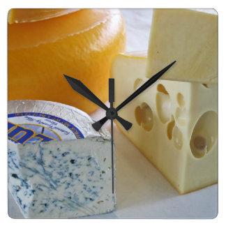 Reloj de los quesos