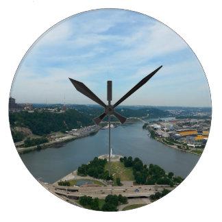 Reloj de los ríos de Pittsburgh 3