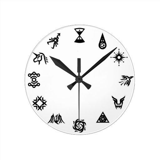 Reloj de los símbolos de EXO
