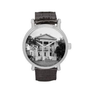 Reloj de Luisiana de la plantación de la arboleda