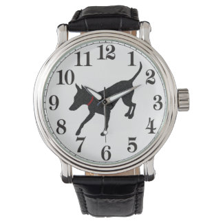 Reloj de Manchester Terrier
