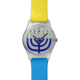 Reloj de Menorah