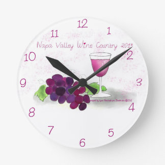 Reloj de Napa Valley