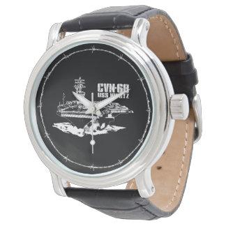 Reloj de Nimitz Ewatch de portaaviones