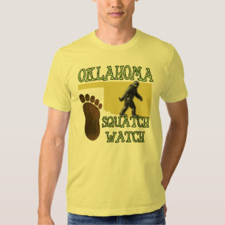 Reloj de Oklahoma Squatch Polera