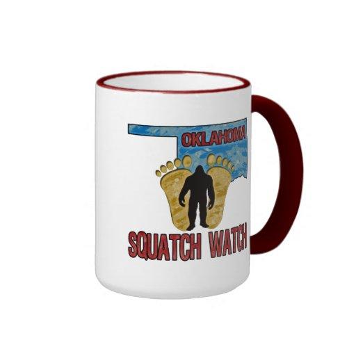 Reloj de Oklahoma Squatch Taza