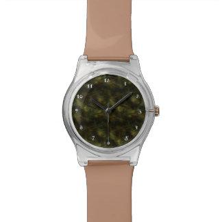Reloj de oro del fractal de Brown