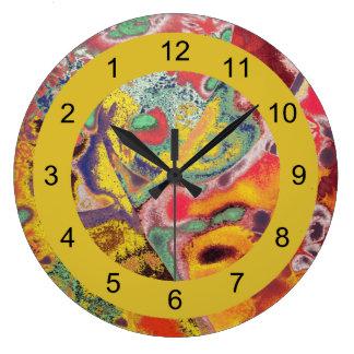 Reloj de Paisley-Al revés para la gente inusual