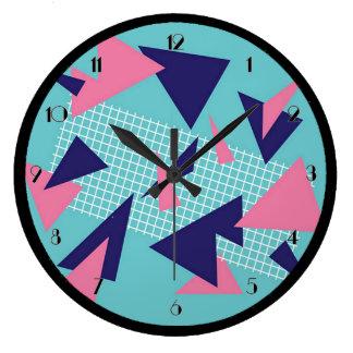 reloj de pared abstracto retro del modelo de los
