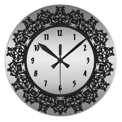 Reloj de pared afiligranado