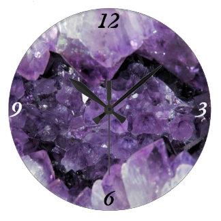 Reloj de pared Amethyst de Geode