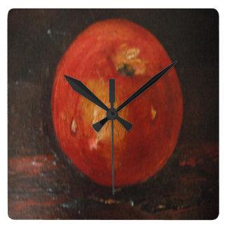 Reloj de pared Ana Hayes que pinta Apple