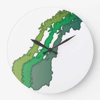 Reloj de pared anónimo noruego