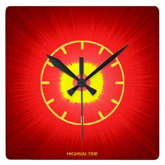 reloj de pared caliente por el highsaltire