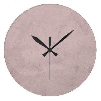 Reloj de pared casero de la decoración