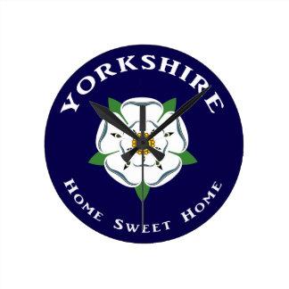 Reloj de pared casero dulce casero de Yorkshire