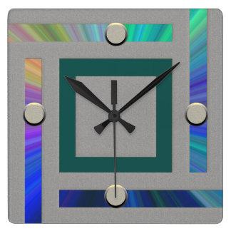 Reloj de pared contemporáneo ultra moderno