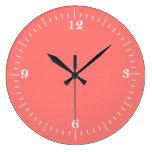 Reloj de pared coralino coralino