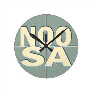Reloj de pared costero del Timezone del tiempo de