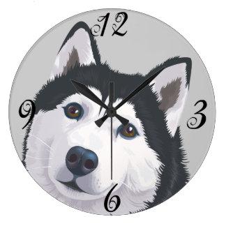 Reloj de pared de Akita